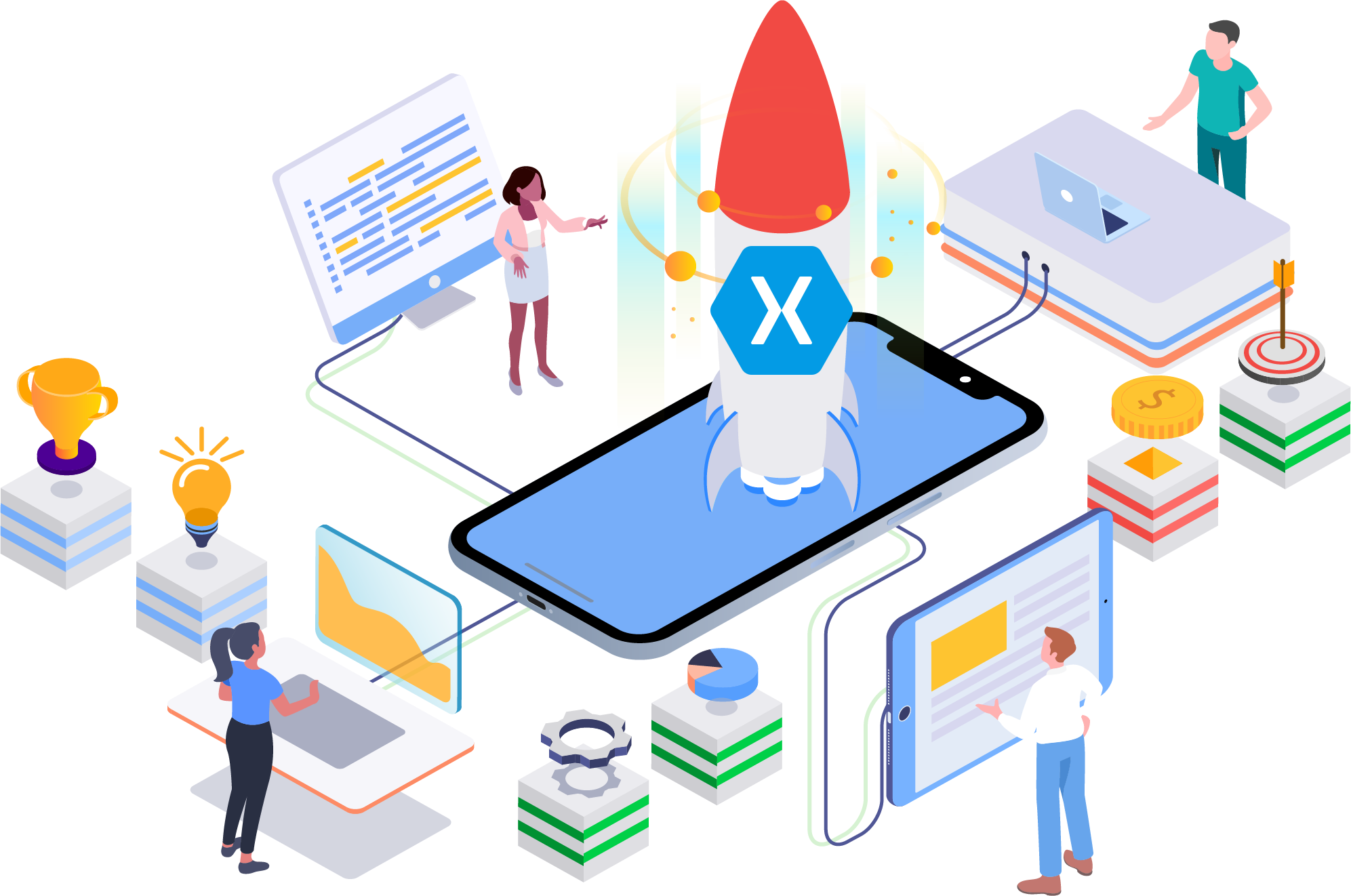 Ready to develop cross-platform Android and iOS apps with Xamarin with our best Xamarin development company in the U.K?